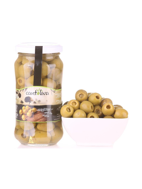 zelené olivy s ančovičkou Cantoliva