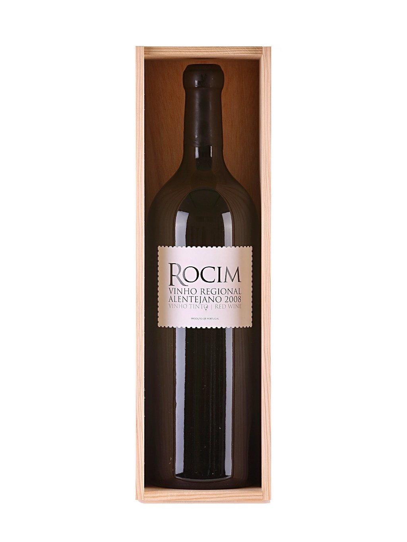 červené víno Rocim 2008 v třílitrové lahvi Double Magnum