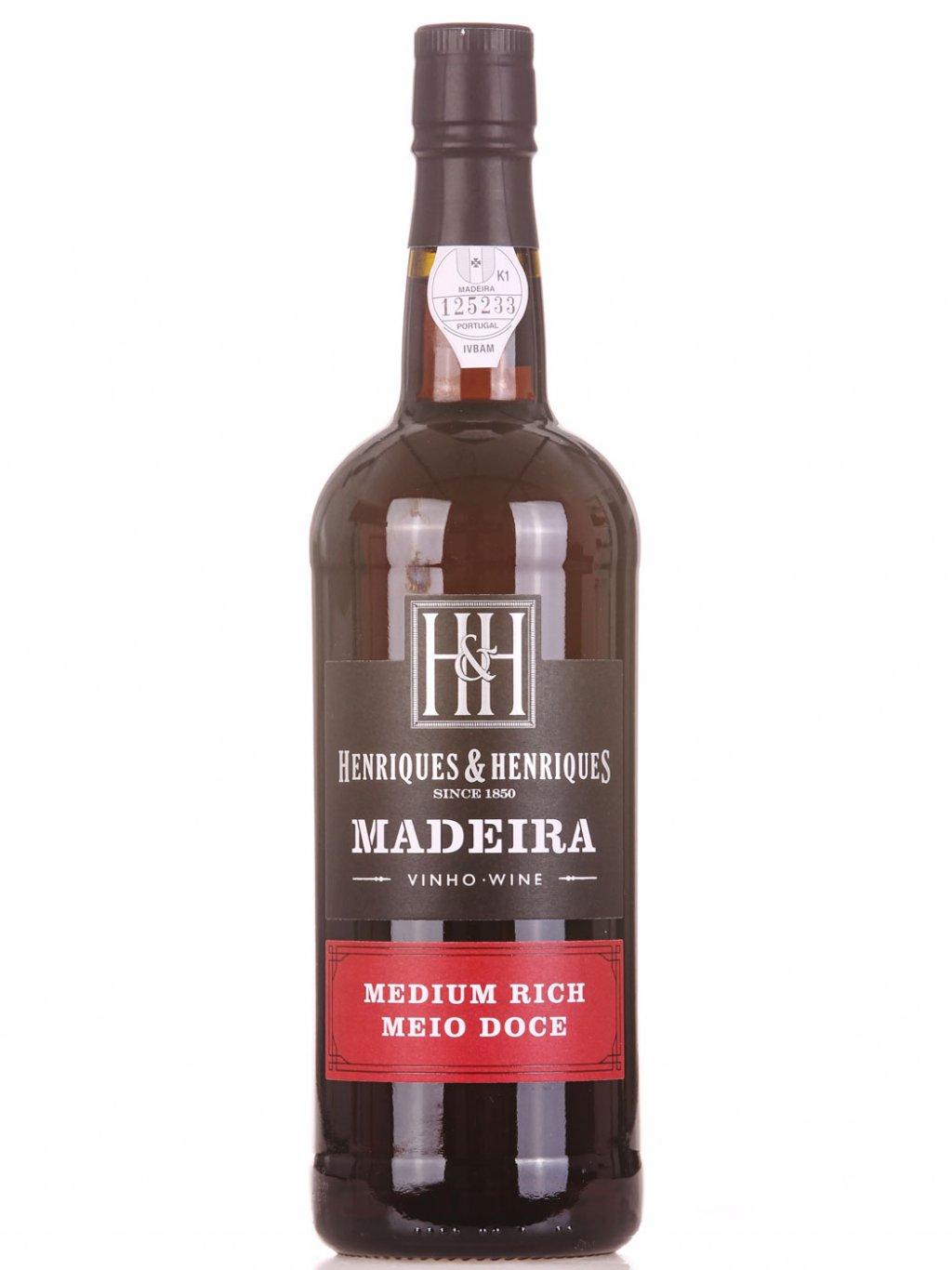 Henriques & Henriques Madeira Medium Rich 3 YO