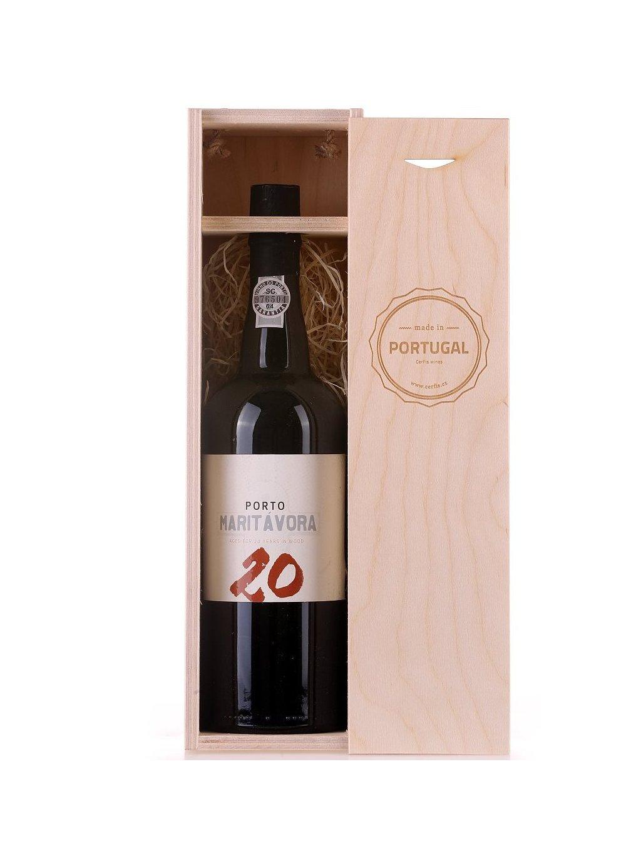 Dvacetileté portské víno Maritávora Tawny