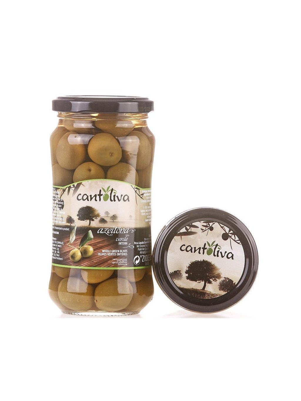 zelené olivy s peckou Cantoliva