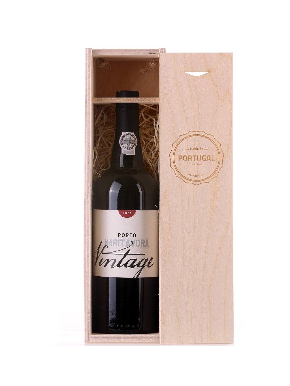 luxusní portské víno Maritávora Vintage 2007