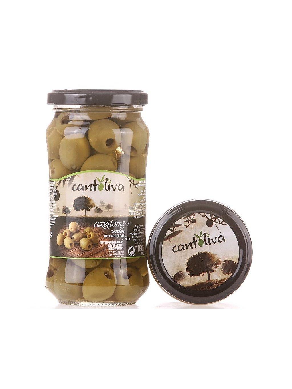 zelené olivy vypeckované Cantoliva