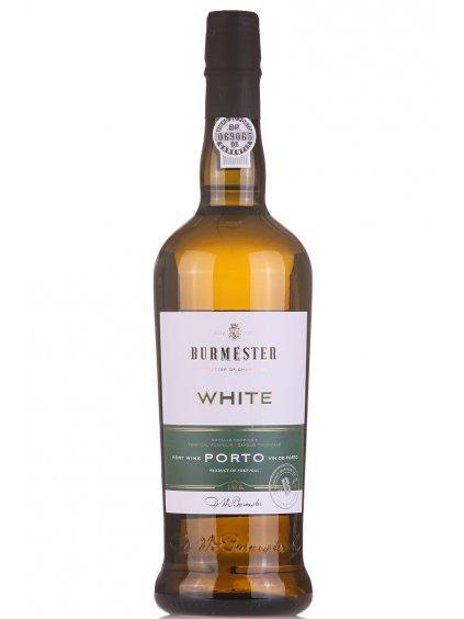 bílé portské víno Burmester