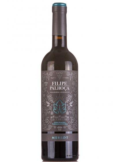 Filipe Palhoca Merlot 2017 červené víno