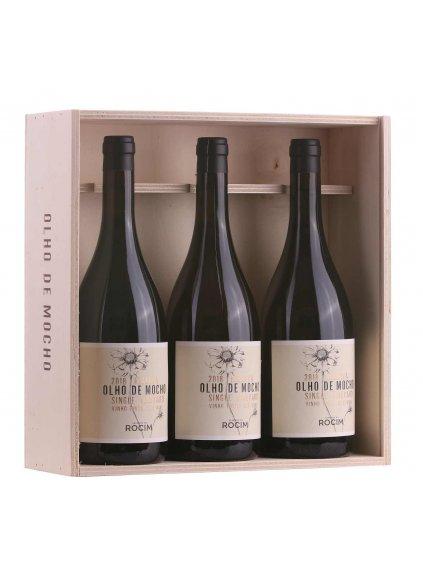dárková sada prémiových červených vín Olho de Mocho