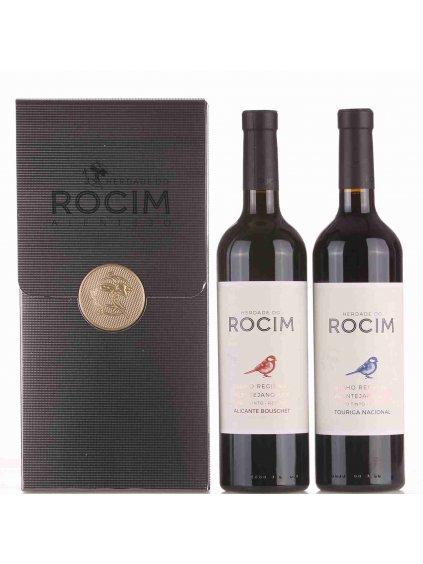 luxusní sada červených vín Rocim
