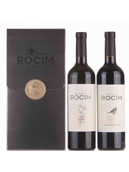 sada skvělých červených vín Rocim a Rocim Reserva