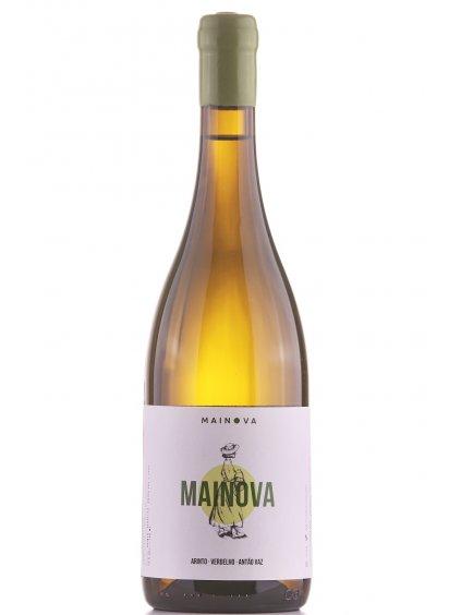 bílé veganské víno Mainova