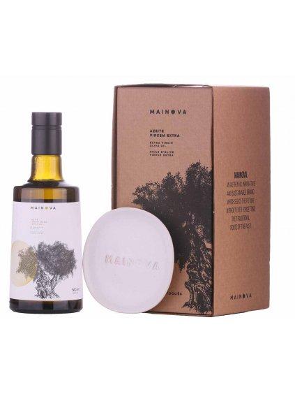 olivový olej Mainova v dárkovém balení
