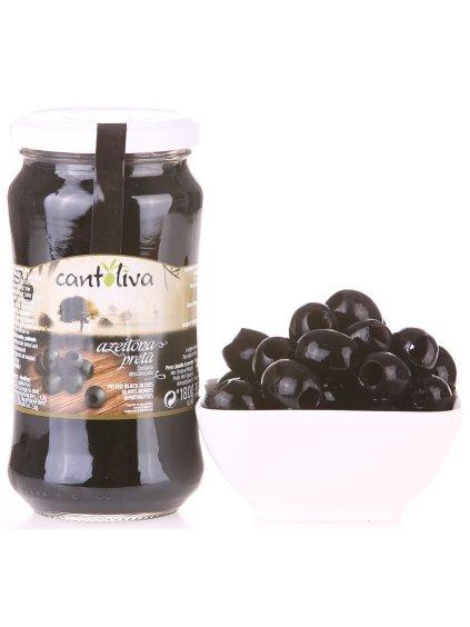černé olivy Cantolivy bez pecky