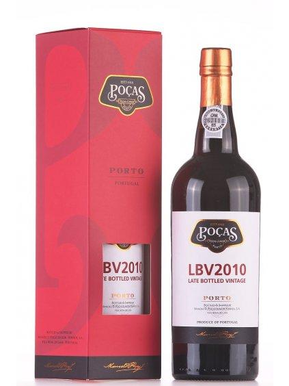 portské víno Pocas LBV 2010