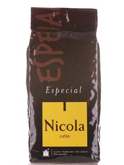 kvalitní zrnková káva Nicola Cafés z Portugalska