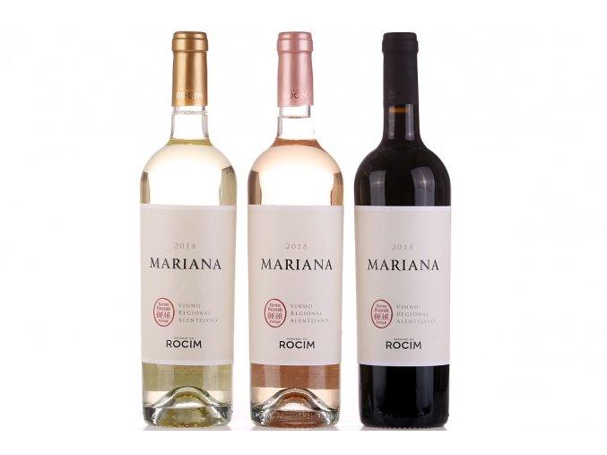 sada oblíbených vín Mariana