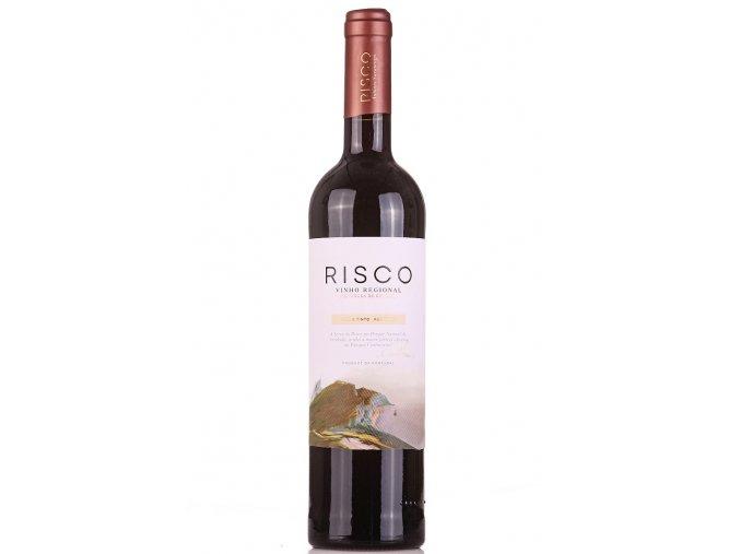 červené víno Risco DOC 2017