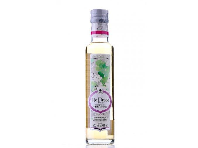 Vinný ocet bílý De Prado 250 ml