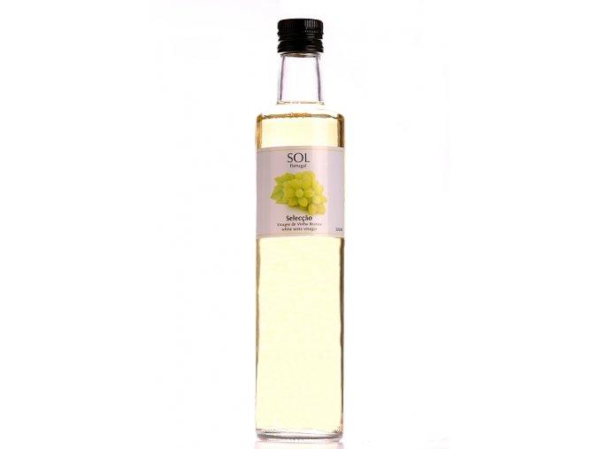 Vinný ocet bílý SOL POrtugal 500 ml