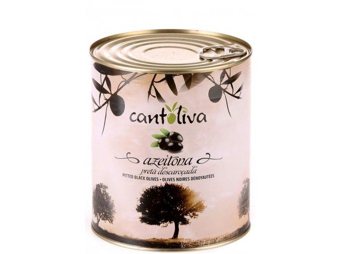gastro balení černých olivy bez pecky