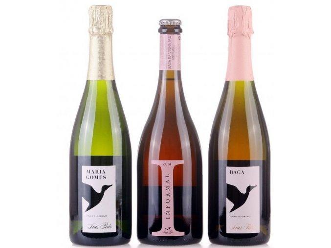 sada šumivých vín Luís Pato