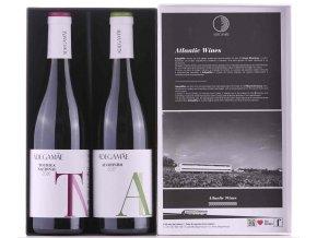 dárková sada vín Petit Verdot a Touriga Nacional
