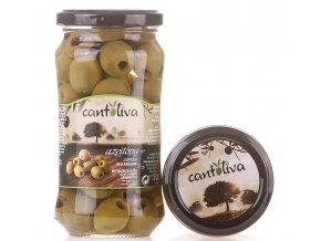 vypeckované zelené olivy Cantoliva