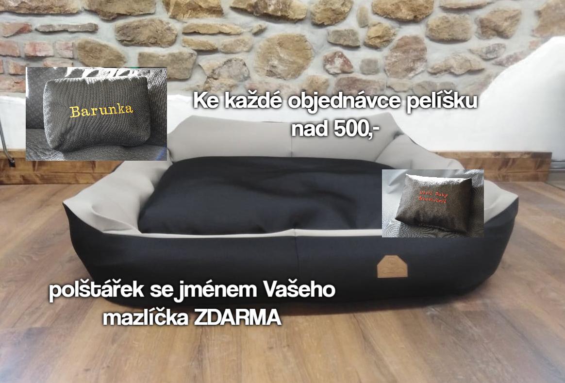 AKCE POLŠTÁŘEK ZDARMA
