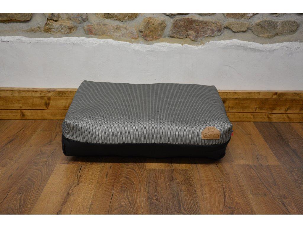 Cerino Pelech Ancona 70cm x 55cm x min 15cm šedý vzor