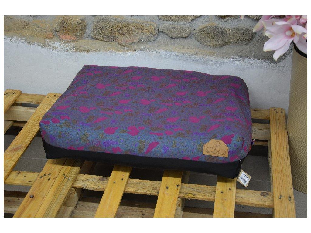 Cerino Pelech Ancona 70cm x 55cm x min 15cm jasně fialová