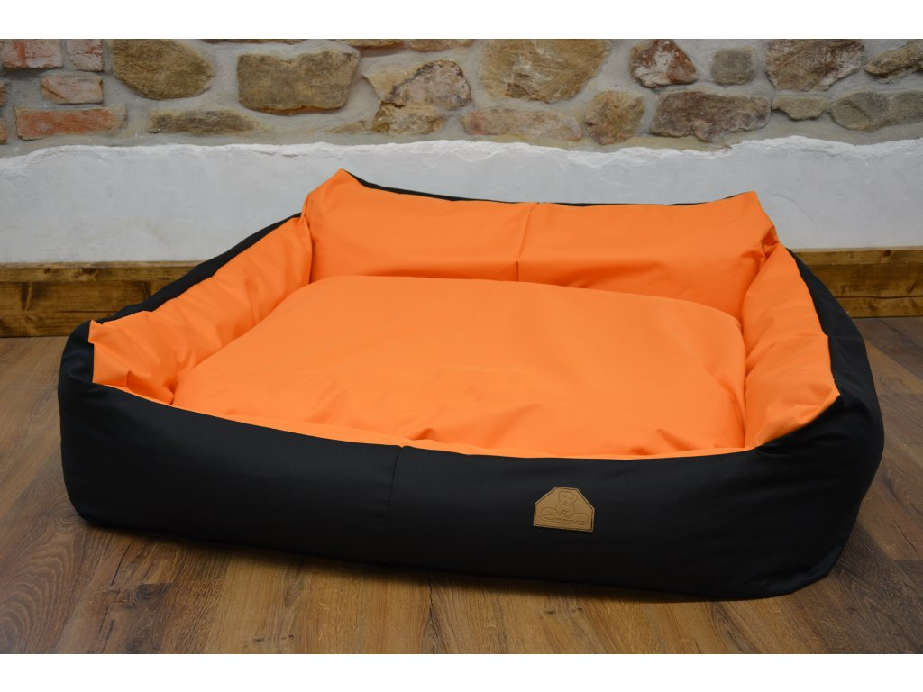 Pelech Křeslo Imola M ORCA 125 x 115 x 15 CODURA oranžový