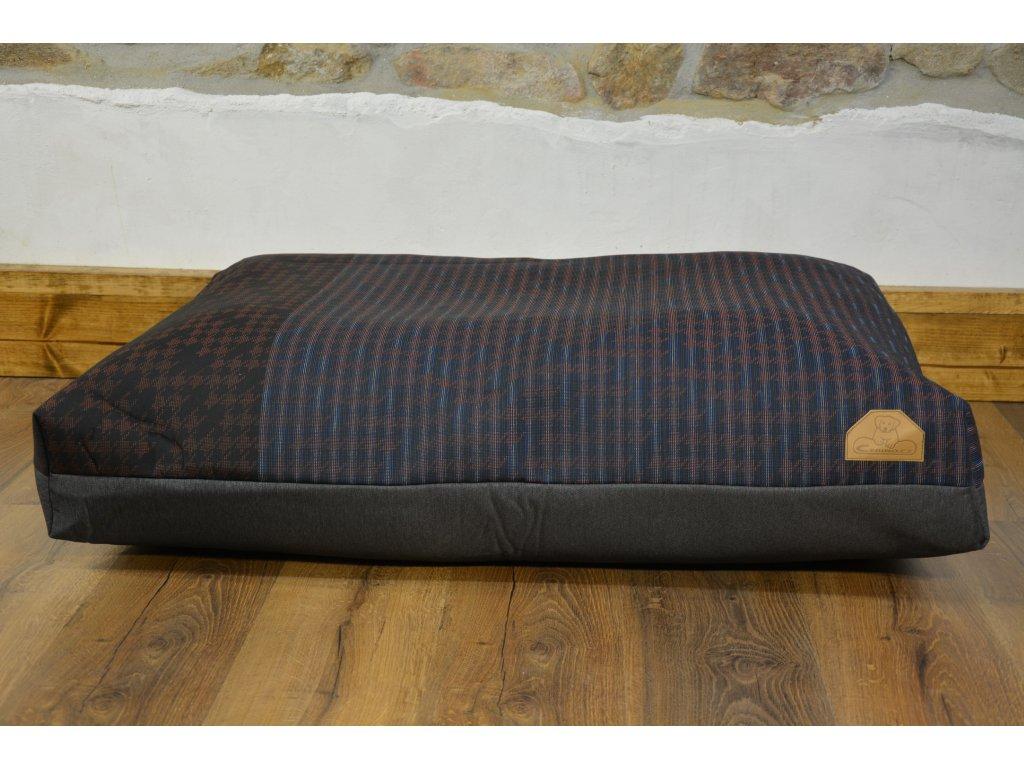 Cerino Pelech MODENA 100 x 85 x 15 textilní ČERVENÝ BLESK
