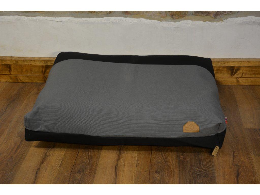 Cerino Pelech MODENA019, 100 x 85 x 15 textilní černý střed