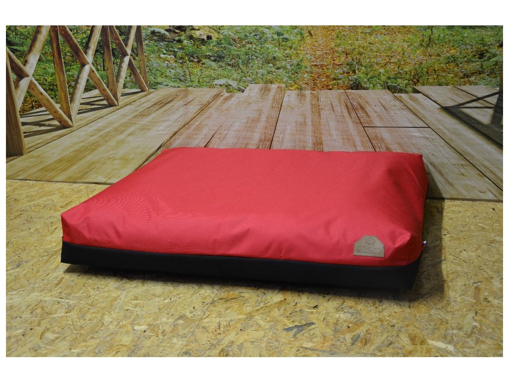 Cerino pelech ModenaC13, 100x85x15, červená