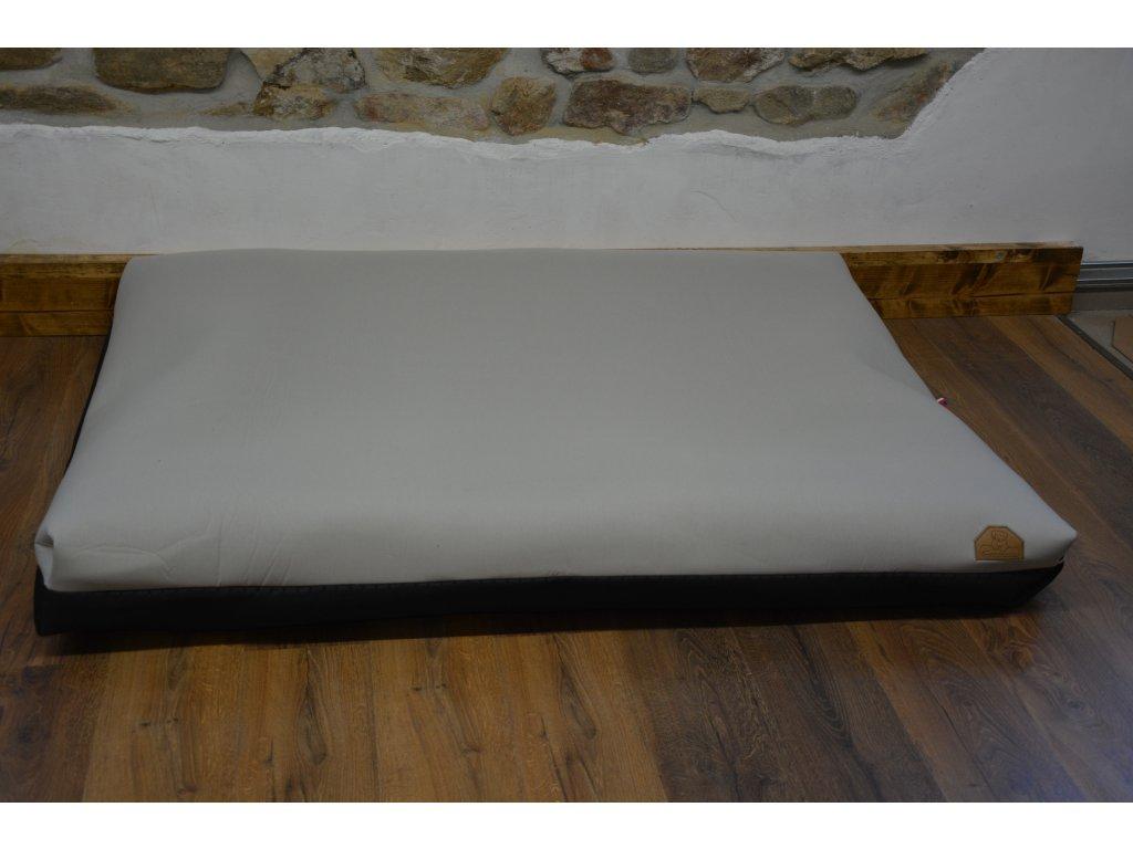 Cerino pelech Ortona 160x120x15 textilní - světlá