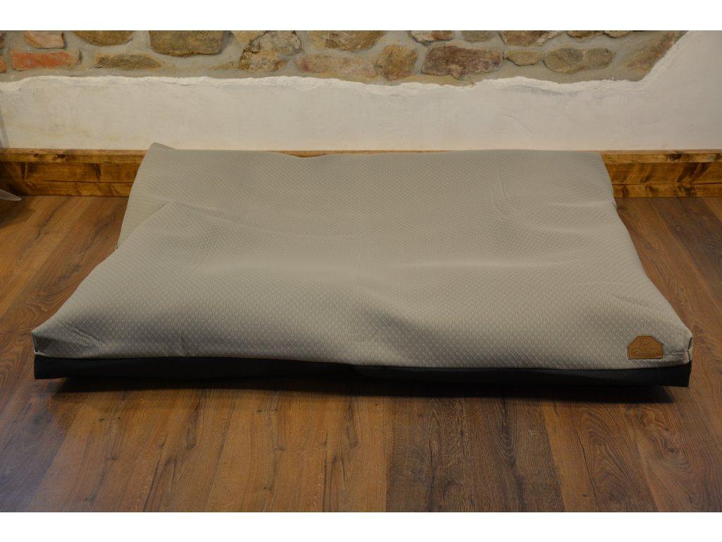 Cerino pelech Ortona 160x120x15 textilní - BÉŽOVÉ PLASTVE