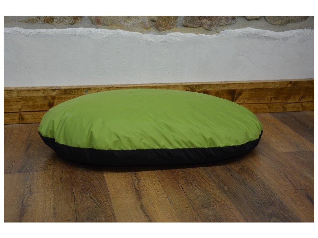Cerino poduška pro psy a kocky 90 x 60 x 10 zelená
