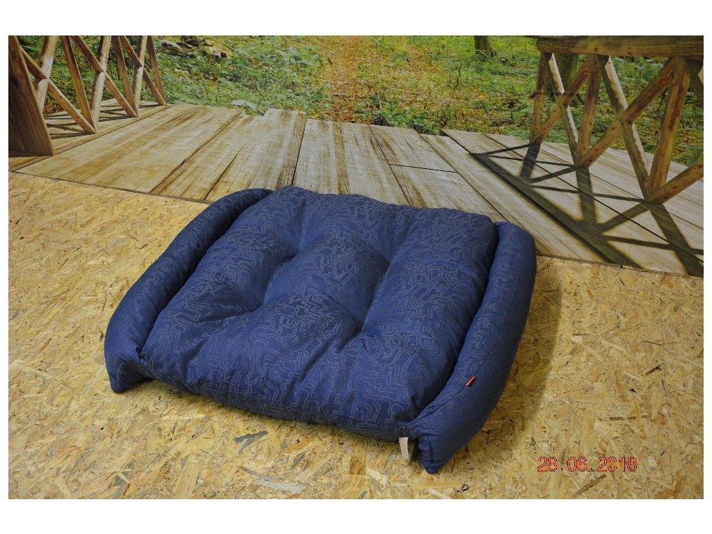 Cerino pelech RINO - modrý 110x100cm