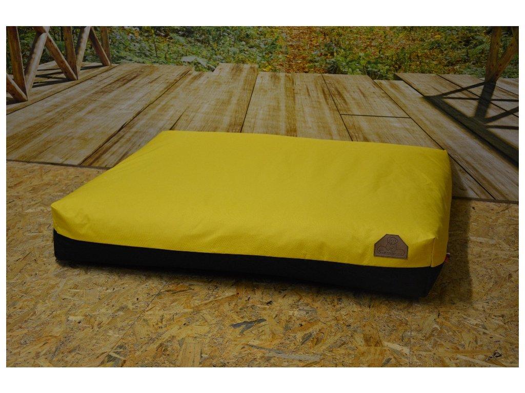 Cerino pelech Verona Codura 140x100x15 žlutý