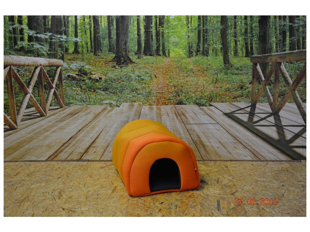 Cerino pelíšek Tunel oranžový