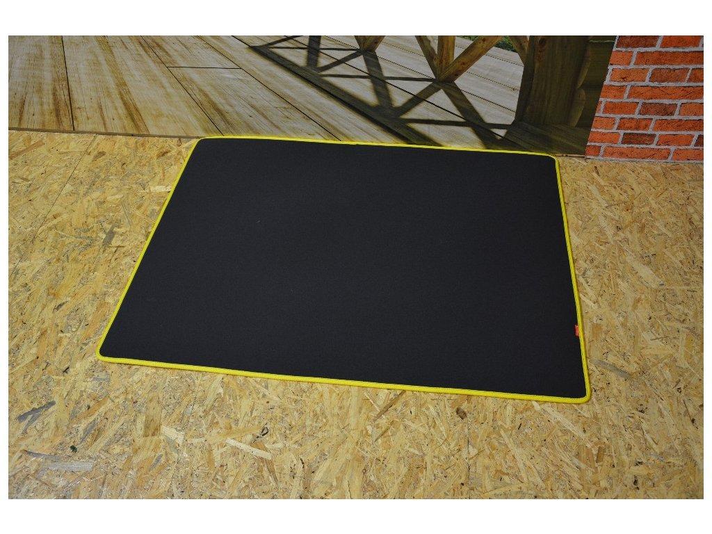 Cerino podložka 118x90cm žlutý lem