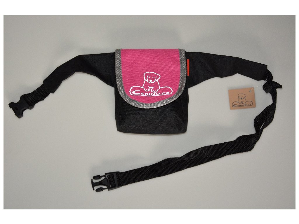 Pamlskovník s páskem 0,5L růžový