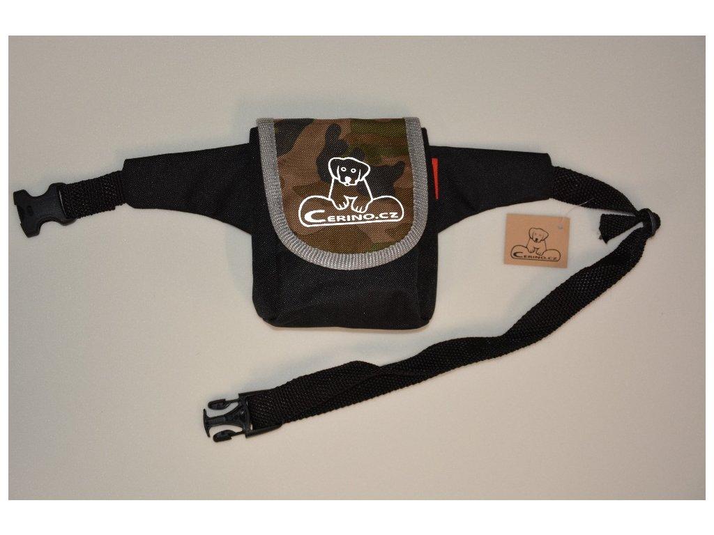 Pamlskovník s páskem 0,5L maskáč