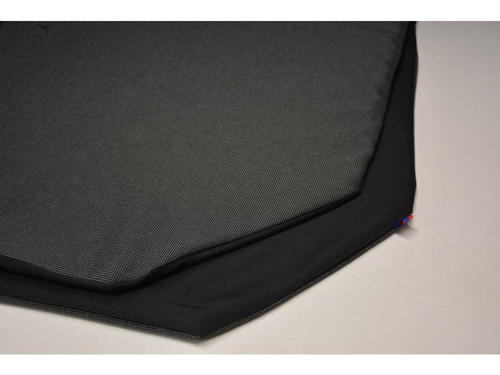 Cerino chránič S pro malá plemena  80 cm x 80 x 52 cm antracit a černá