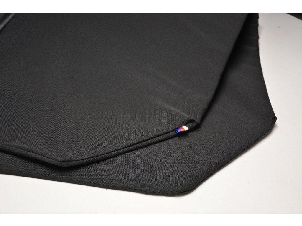 Cerino chránič S pro malá plemena  80 cm x 80 x 52 cm černá a černá