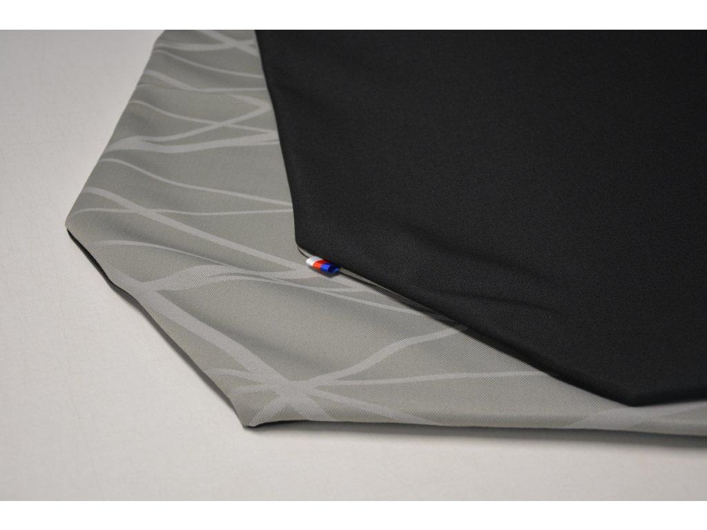 Cerino Chránič M - pro střední plemena 98 cm x 98 x 52 cm černá a šedá se vzorkem
