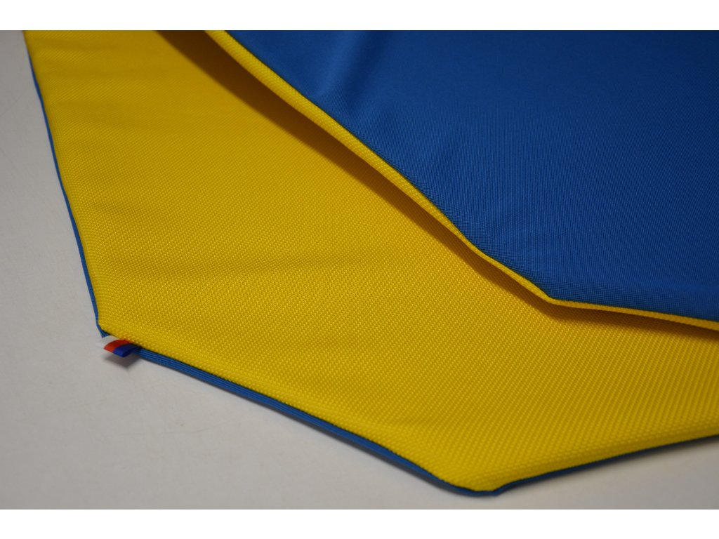 Cerino Chránič M - pro střední plemena 98 cm x 98 x 52 cm modrá a žlutá