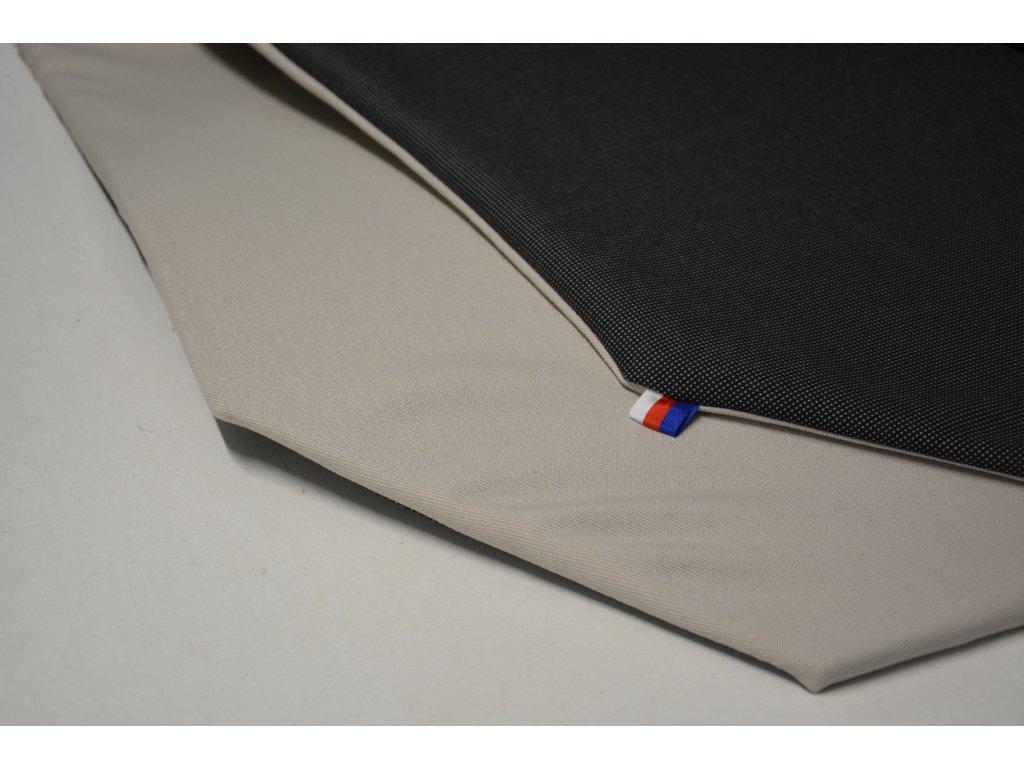 Cerino Chránič M - pro střední plemena 98 cm x 98 x 52 cm antracit a béžová