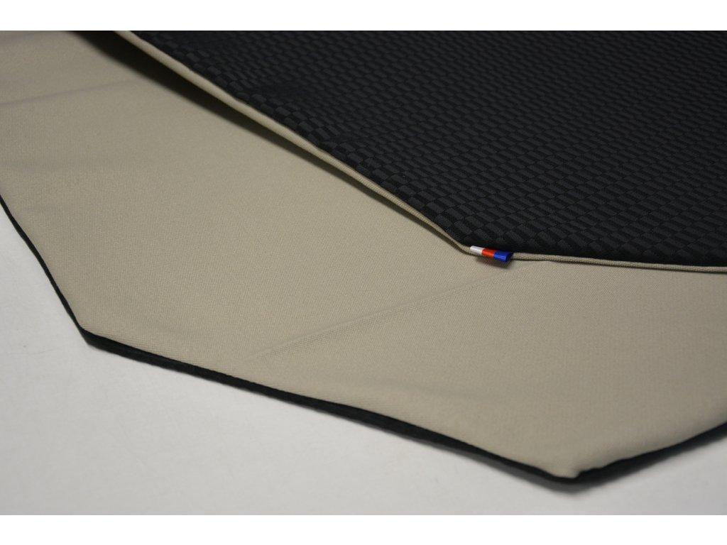 Cerino Chránič M - pro střední plemena 98 cm x 98 x 52 cm černá a béžová