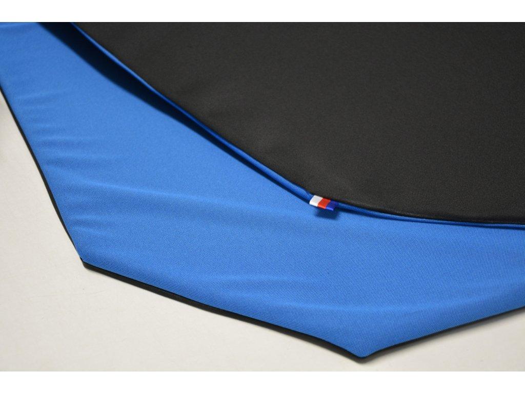 Cerino Chránič M - pro střední plemena 98 cm x 98 x 52 cm černá a modrá
