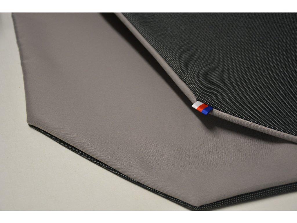 Cerino Chránič M - pro střední plemena 98 cm x 98 x 52 cm antracit a šedá