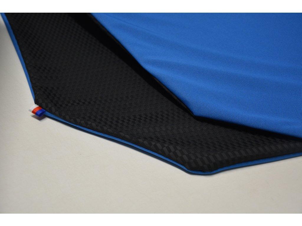 Cerino Chránič M - pro střední plemena 98 cm x 98 x 52 cm modrá a černá
